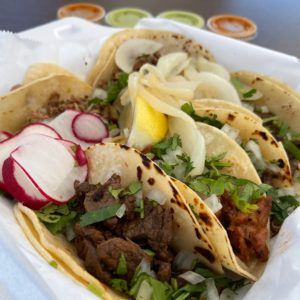 Photograph of delicious tacos